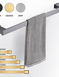 cheap -Bathroom Towel Bar New Design Contemporary Aluminum Material Bathroom Single Towel Rod Wall Mounted