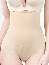 cheap -Corset Women's Control Panties Seamless Breathable Comfortable Hip Pants Tummy Control Basic Solid Color Fashion Seamed Not Specified Nylon Polyester Christmas Halloween Wedding Party Birthday Party