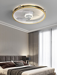 cheap -LED Ceiling Light 50 cm Circle Design Ceiling Fan Aluminum Artistic Style Modern Style Stylish Brushed Electroplated LED Nordic Style 220-240V