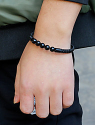 cheap -bracelet color agate tiger eye leather bracelet men and women couple bracelet
