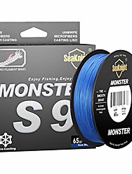cheap -seaknight monster s9 9 strands pe braided fishing line super strong 300m/327yds 500m/546yds long casting best fishing line