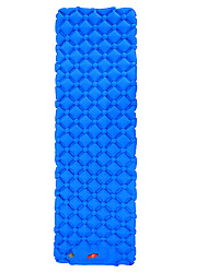 cheap -Self-Inflating Sleeping Pad Camping Pad Air Pad with Pillow Outdoor Camping Portable Ultra Light (UL) Moistureproof Anti-tear TPU Nylon 190*60 cm for 1 person Fishing Beach Camping / Hiking / Caving