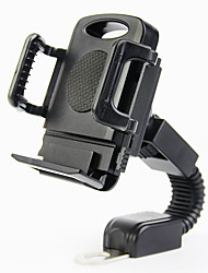 cheap -Phone Holder Stand Mount Bike Outdoor Bike & Motorcycle Phone Mount Buckle Type Adjustable ABS Phone Accessory iPhone 12 11 Pro Xs Xs Max Xr X 8 Samsung Glaxy S21 S20 Note20