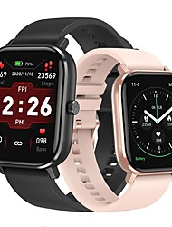 cheap -DT NO.1 DT35+ Smartwatch Fitness Running Watch Bluetooth 1.75 inch Screen IP 67 Heart Rate Monitor Blood Pressure Measurement Sports Stopwatch Pedometer Sleep Tracker 36.5mm Watch Case for Android iOS