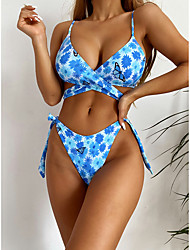 cheap -outside single swimsuit 2021 independent station aliexpress amazon europe and america foreign trade printing ladies swimsuit bikini b250