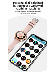 cheap -V25 Smartwatch Fitness Running Watch Bluetooth Pedometer Activity Tracker Sleep Tracker Long Standby Media Control with Camera IP 67 42mm Watch Case for Android iOS