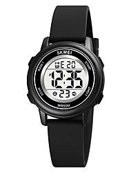 cheap -SKMEI Kids Digital Watch Digital Digital Cartoon Calendar / date / day Chronograph Alarm Clock