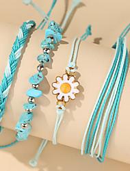 cheap -Women's Bracelet Geometrical Heart Stylish Simple Boho Plastics Bracelet Jewelry Blue For Daily Promise