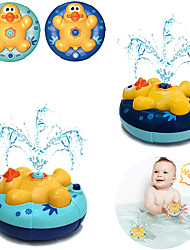 cheap -Baby Bath Toys, Duck Automatic Rotating Spray Water Bathtub Toys, Induction Sprinkler Shower Toys for Toddlers Infants Kids Boys Girls(2 pcs)