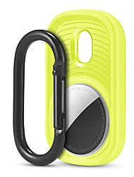 cheap -TPU Protective Case For Apple Airtag Case GPS Finder Colorful ProtectiveLocator Tracker Anti-lost Device with Keychain For Apple AirTag Tracker Case