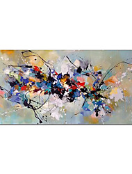 cheap -Oil Painting Handmade Hand Painted Wall Art Contemporary Minimalist Colorful Abstract Home Decoration Decor Rolled Canvas No Frame Unstretched