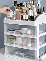 cheap -4 Layers Storage Case Multi-Function Desktop Sundry Makeup Organizer Cosmetics Drawer Jewelry Storage Box Container Lipstick Holder