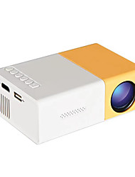 cheap -G300 LED Projector Manual Focus 320x240 500 lm Compatible with TV Stick