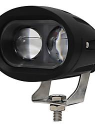 cheap -OTOLAMPARA 4 inches 20W Spotlight LED Work Light IP68 Waterproof Blue Color Spot Lighting Beam Forklift LED Warning Light 1pcs