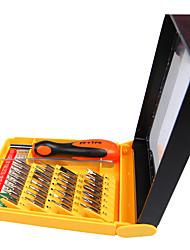 cheap -Universal BST-8902 30-in-1 Multipurpose Repair CR-V Screwdriver Tweezer Set Tools