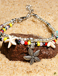 cheap -Women's Bracelet Geometrical Heart Stylish Simple Boho Plastics Bracelet Jewelry Silver For Daily Promise