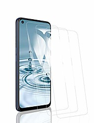 cheap -Phone Screen Protector For OPPO OPPO A77 OPPO A59 OPPO A57 OPPO A37 Oppo A92s Tempered Glass 3 pcs High Definition (HD) 9H Hardness Scratch Proof Front Screen Protector Phone Accessory