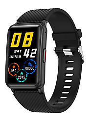 cheap -E30 Unisex Smartwatch Fitness Running Watch Bluetooth Heart Rate Monitor Blood Pressure Measurement Calories Burned Media Control Information Stopwatch Pedometer Call Reminder Activity Tracker Sleep