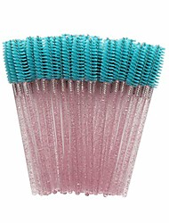 cheap -disposable eyelash extension brushes mascara wands brushes eye brow brushes makeup brush applicator makeup kits soft and light easy to use (50 pcs)