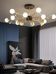 cheap -LED Pendant Light Chandelier 92/108 cm Chandelier Metal Artistic Style Modern Style Stylish Painted Finishes 220-240V