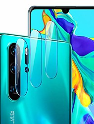 cheap -Phone Screen Protector For Huawei P40 P40 Pro P40 Pro+ P20 P20 Pro Tempered Glass 3 pcs High Definition (HD) Scratch Proof Camera Lens Protector Phone Accessory