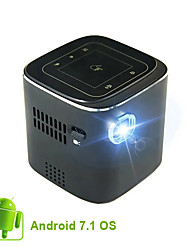 cheap -Mini Projector Portable Projector Beamer Smart Android Wifi  Projector Palm-Sized 70 ANSI Lumen with Wi-Fi DLP 5,000+ Apps 30000 Hours Lamp Life Wireless Bluetooth (Supply provided by Lenovo factory)