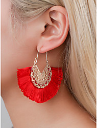 cheap -Women's Girls' Earrings Classic Fashion Korean Earrings Jewelry Red For Birthday New Baby Engagement 1pc