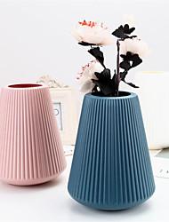 cheap -16*20CM Nordic Creative Vase Imitation Ceramic Plastic Vase 1pc