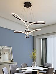 cheap -LED Pendant Light 80 cm Single Design Chandelier Aluminum Artistic Style Modern Style Stylish Painted Finishes LED Modern 220-240V