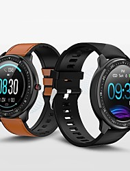cheap -Z06 Smartwatch Fitness Running Watch Bluetooth Pedometer Sleep Tracker Heart Rate Monitor Long Standby Message Reminder Call Reminder IP 67 48mm Watch Case for Android iOS Men Women / Gravity Sensor