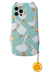 cheap -Phone Case For Apple Back Cover iPhone 12 Pro Max 11 X XR XS Max Shockproof Dustproof Animal TPU