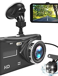 """cheap -Dash Cam Dual Lens mini Car DVR Full HD 1080P 4"""" Touch Screen IPS With Backup Rear Camera Registrator Night Vision Video Recorde"""