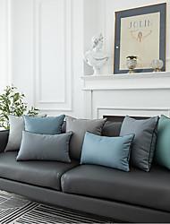 cheap -PillowCase Northern Europe Simple Modern Technology Cloth PillowCase Cushion Cover Living Room Bedroom Sofa Cushion Cover Modern Sample Room Cushion Cover