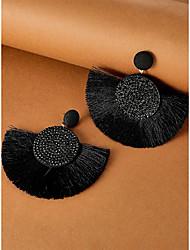 cheap -Ethnic Style Fringe Fan-shaped Personality Popular Earrings