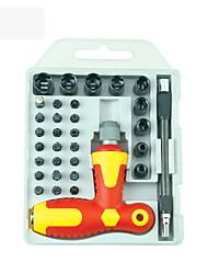 cheap -BST-2887D 33pcs Precision Screwdriver Set Dual-drive Screwdriver Kit Repair for watch Phones PC Electronic Maintenance