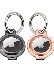 cheap -Metal Protective Airtag Case For Airtags Cover Keychain Holder For Apple Tracker Anti-lost Device For AirTag Case Smart Accessoires