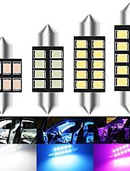 cheap -10pcs Festoon C5W led Canbus 31/36/39/41mm Interior Lighting Error Free 2835 SMD License Plate led Reading bulbs Dome lamps 12v