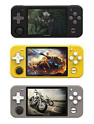 cheap -Powkiddy RGB10 Retro Handheld Video Game Console with 3.5 inch IPS Screen Children Game Player Gift Gaming