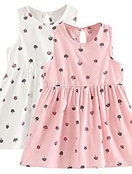 cheap -little girl trends spring summer casual cotton applique tunic dress shirt