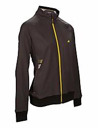 cheap -girls, core club training jacket girls-dark gray, yellow, 128 jackets, dark gray