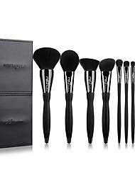 cheap -MSQ Makeup Brushes Set 10 Professional Make-up Brushes With Cosmetic Case And Diamond Decoration/S-curve Handles (Foundation Pink Blush Contour Eyeshadow Brush And Lip) are Most Suitable For Gifts