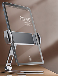 cheap -Phone Holder Stand Mount Desk Phone Desk Stand Adjustable 360°Rotation Aluminum Alloy Phone Accessory iPhone 12 11 Pro Xs Xs Max Xr X 8 Samsung Glaxy S21 S20 Note20