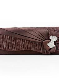 cheap -caiyue ladies dinner bag pleated clutch bag bowknot flower dress bag cheongsam bag mobile cosmetic bag g05