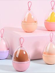 cheap -4 Pcs/set Beauty Egg Hook Storage Box Powder Puff Sponge Egg Breathable Anti-mold Gourd Makeup Egg