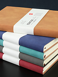 cheap -A5 PU Cover notebook back to school offices And Journals Agenda Office Bussiness Diary simple notebook  14.5*21 cm1pcs