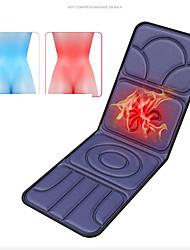 cheap -Whole Body Electric Massage Mattress Multifunctional Household Massage Blanket Cervical Spine Heating Vibration Cushion Cushion Massage Instrument