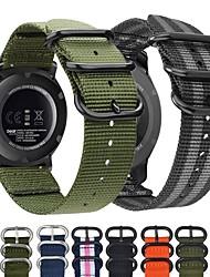 cheap -Smart Watch Band for TicWatch Samsung Galaxy 1 pcs Sport Band Weave Bracelet Nylon Canvas Replacement  Wrist Strap for Samsung Galaxy Watch 46mm Samsung Galaxy Watch 42mm Samsung Galaxy Active