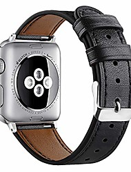 cheap -compatible with apple watch band 40mm 38mm leather for women men, stylish sport wristband metal classic buckle clasp bracelet replacement band for apple watch se/iwatch series 6/5/4/3/2/1