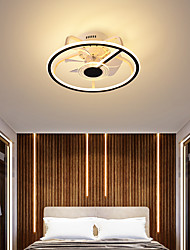 cheap -LED Ceiling Fan Light 44 cm Circle Design Ceiling Fan Aluminum Artistic Style Vintage Style Modern Style Painted Finishes LED Nordic Style 220-240V