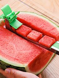 cheap -New Watermelon Cutter Multi Melon Slicer Cutting Machine Stainless Steel Windmill Fruit Household Artifact Kitchen Tool